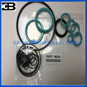 Krupp Hydraulic Breaker HM390 Seal Kit Seals NOK