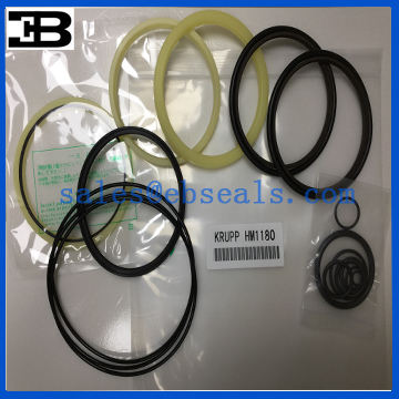 Krupp Hydraulic Breaker HM1180 Hammer Seal Kit