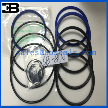Soosan Hydraulic Breaker Seals SB81N Seal Kit