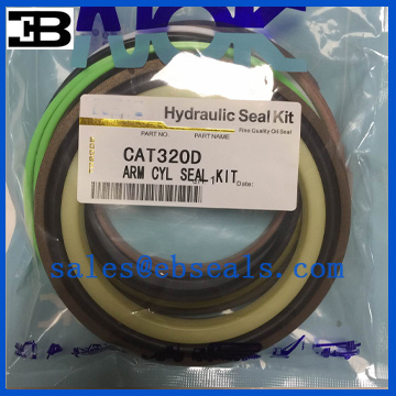 CAT320D Arm Cylinder Seal Kit