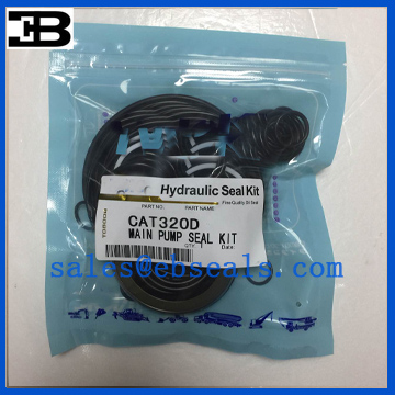 CAT320D Hydraulic Pump Seal Kit