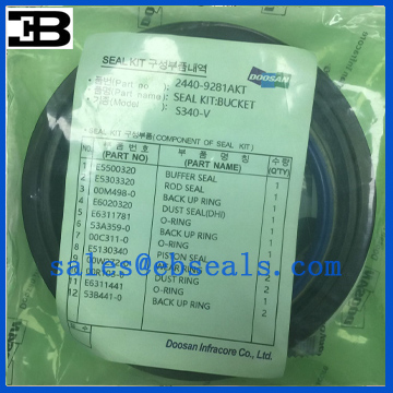 Doosan S340 Seal Kit 2440-9281AKT