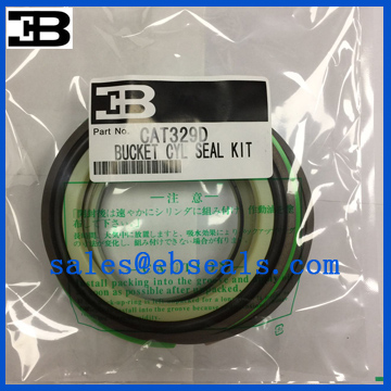 Caterpillar CAT329D Bucket Cylinder Seal Kit