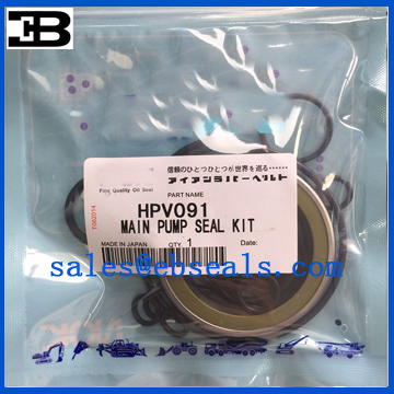 Hitachi HPV091 Hydraulic Pump Seal Kit