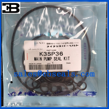 Kawasaki K3SP36 Hydraulic Pump Seal Kit