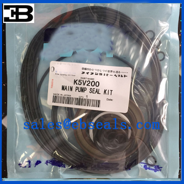 Kawasaki K5V200 Hydraulic Pump Seal Kit