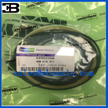 DX140W Excavator Arm Cylinder Seal Kit