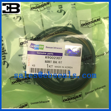 DX140W Excavator Bucket Cylinder Seal Kit