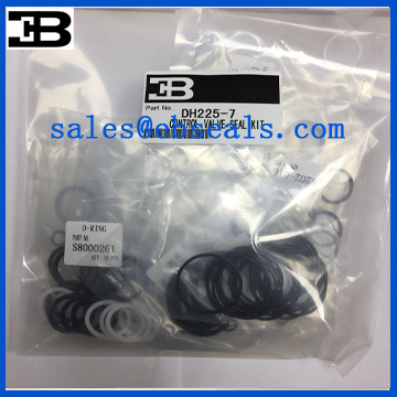 DH225-7 Main Control Valve Seal Kit