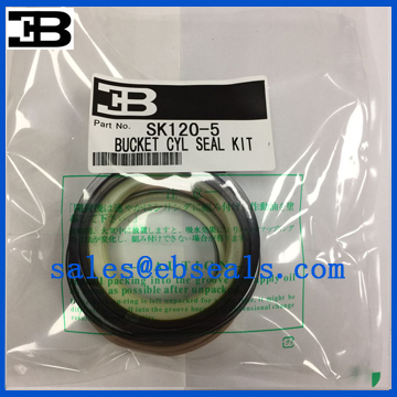 Kobelco SK120-5 Bucket Cylinder Seal Kit