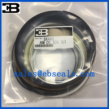 Kobelco SK480 Arm Cylinder Seal Kit