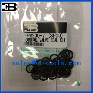 PC200-7 Main Control Valve Seal Kit
