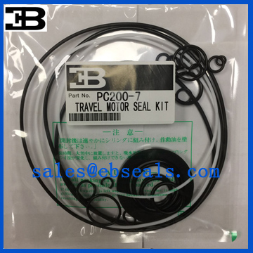 PC200-7 Travel Motor Hydraulic Seal Kit