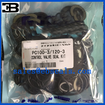PC100-3 PC120-3 Main Control Valve Seal Kit
