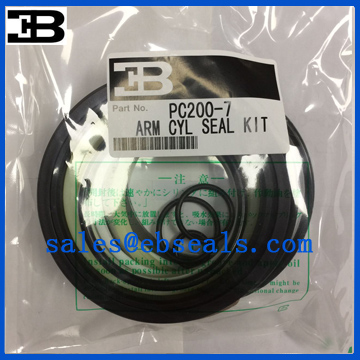 PC200-7 Excavator Arm Cylinder Seal Kit