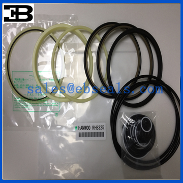 Hanwoo Hydraulic Breaker RHB325 Seal Kit Seals