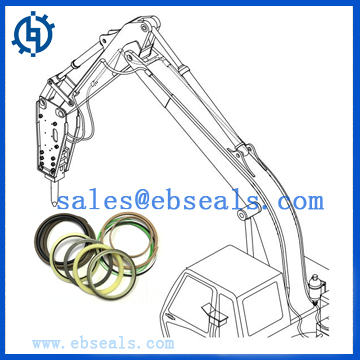 Excavator Hydraulic Seal Kit