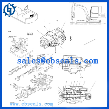 Hydraulic Pump Seal Kit